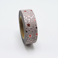 New! Star Glitter Washi Tape Office Adhesive Scrapbooking Tools Kawaii For Photo Album Cute Great Christmas Gift Paper Craft
