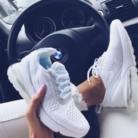 Nike Air Max 270 women The air cushion shoes-5