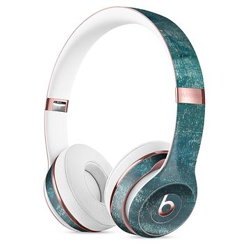 Aged Green Paint Surface Full-Body Skin Kit for the Beats by Dre Solo 3 Wireless Headphones