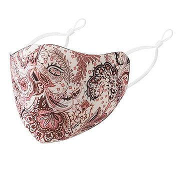 Masae Face Mask - Brown Paisley