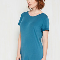 Simplicity on a Saturday Tunic in Lake