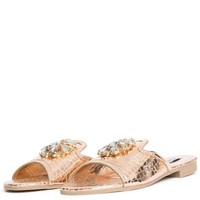 Cape Robbin Leela-10 Women's Rose Gold Sandals