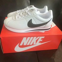 nike cortez unisex casual fashion leather running shoes couple retro sneakers-1