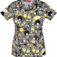 Buy Dickies GenFlex Women's All The Small Things Jr.Fit V-Neck Top for $21.45