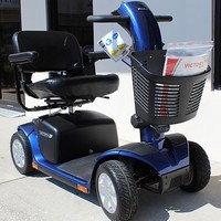 Victory 10 4-Wheel Scooter SC710 - Pride Mobility   TopMobility.com