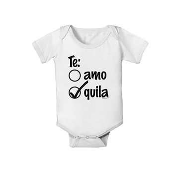 TooLoud Mexican Flag Dancing Silhouettes Baby Romper Bodysuit