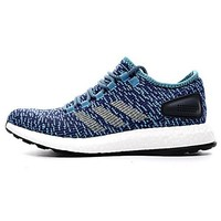Best Deal Online Adidas Pure Boost LTD 2017 Power Blue Primeknit PK Women Sport Men Running Shoes
