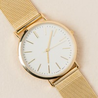 Kelly Gold Metal Watch