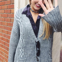 Not Your Grandpa's Cable Knit Sweater