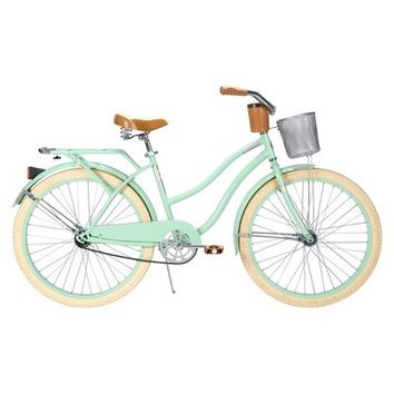 "Huffy Deluxe 26"" Women's Cruiser Bike - Mint Green"