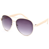 Full Tilt Aviator Sunglasses Coral One Size For Women 25642031301