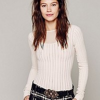 Cable Knit Seamless Cami