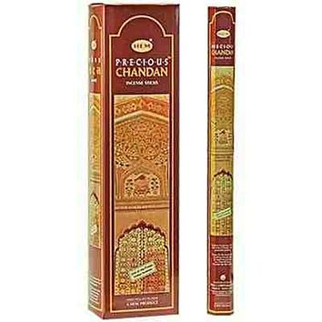 "Hem Precious Chandan 16""L Jumbo Sticks - 10 Sticks (6 Packs Per Box)"
