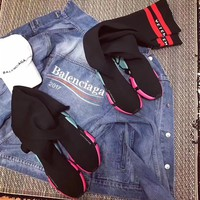shosouvenir  Balenciaga  Stretch fabric, casual sports shoes, socks boots