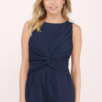 It's Not Over Draped Playsuit