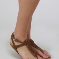 Sandals With Laser Cutouts