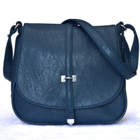 Flip Cover Casual Leather Sling Bag