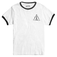 Harry Potter Deathly Hallows Ringer T-Shirt