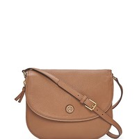 Tory Burch Robinson Pebbled Messenger