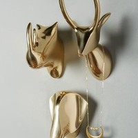 Gleaming Safari Bust by Anthropologie in Bronze Size: