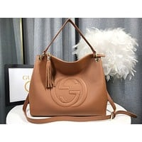 fashion Women Leather Shoulder Bags Satchel Tote Bag Handbag Shopping Leather Crossbody