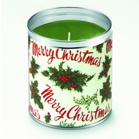 Merry Christmas Gift Wrap Candle