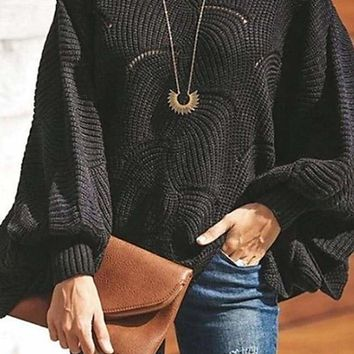 Crashing Waves Sweater