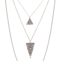 One Chance Necklace - Silver - One Size / Silver
