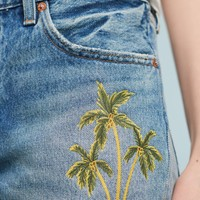Levi's 501 Palm-Painted Shorts