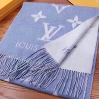 LV popular casual men and women jacquard fringed shawl scarf High quality