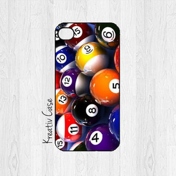 iPhone 4 case, iPhone 4S case - Pool, Sports - For Him - G076