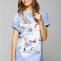 The Mountain Unicorn Candyland Tee - Urban Outfitters
