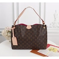 new lv louis vuitton m43701 womens leather shoulder bag lv tote lv handbag lv shopping bag lv messenger bags 35x26x10cm 4