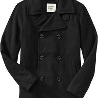 Men's Wool-Blend Peacoats | Old Navy