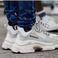 Balenciaga Trending Women Men Casual Sport Running Shoe Couple Sneakers Shoes