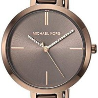 Michael Kors Watches Jaryn Three-Hand Half Bangle Watch