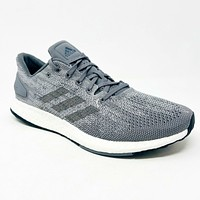 Adidas PureBoost DPR Gray White Black BB6290 Mens Running Shoes Size 8.5
