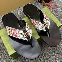 Gucci men's and women's slippers