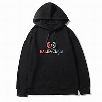 Balenciaga Woman Men Fashion Print Hoodie Top Sweater