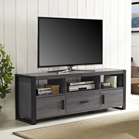 """60"""" TV Stand Console - Charcoal"""