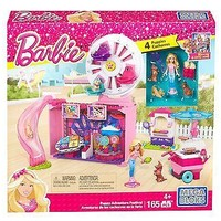 Mega Bloks Barbie Puppy Adventure Festival Toy
