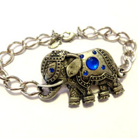 Adorable Good Luck Elephant Bracelet