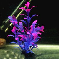 Aquarium Landscaping Home Decor Fish Tank and Aquarium Decoration Accessories Fish & Aquatic Pets Plastic Plants Free Size