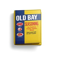 Old Bay Can / Passport Cover