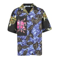 Intergalactic Graphic Rose Shirt by Prada