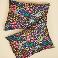 Botanical Bliss Pillow Sham Set | Mod Retro Vintage Decor Accessories | ModCloth.com