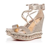 Chocazeppa 120 Version Colombe Glitter Diams - Women Shoes - Christian Louboutin
