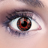 Blood Red Contact Lenses | Lava Contact Lenses