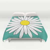 Daisy Duvet Cover by Ashley Hillman