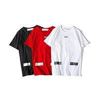 Off-White OW Printing T-shirt S-XXL